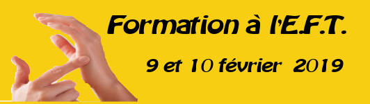Formation EFT 31 mars au 01 avril 2018